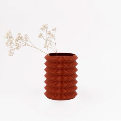 Vase 3D   Orange