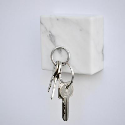 Cube Marbre Magnétique MONOLYTH | Carrara