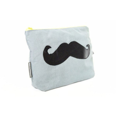 Moustache general grooming kit bag   Khaki