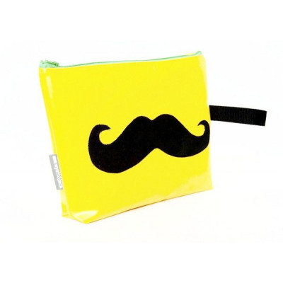 Moustache general grooming kit bag   Yellow