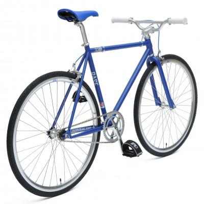 Chill Bikes | Base Blau - Weiß