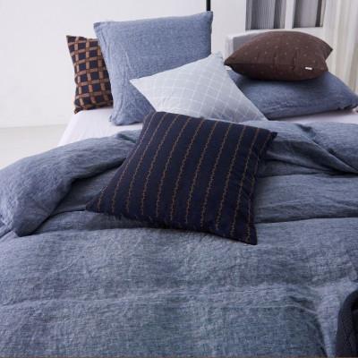 Odin Duvet + Square Pillow Cases | Denim