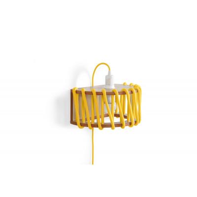 Wall Lamp Macaron 30 cm | Yellow