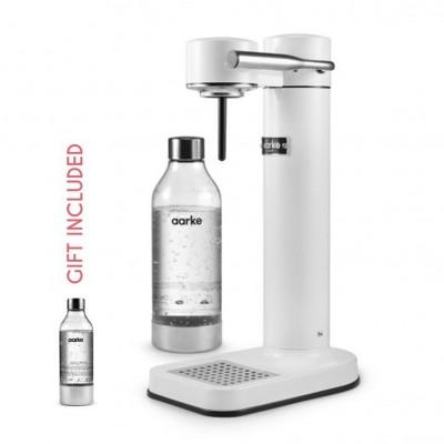 Hersteller von Sprudelwasser + Geschenk: 1 Aarke-Flasche   Weiß