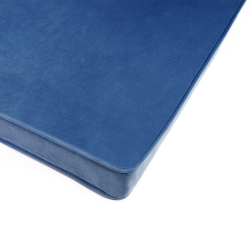 Matratze / Spielmatte für Kinder Velour | Blau