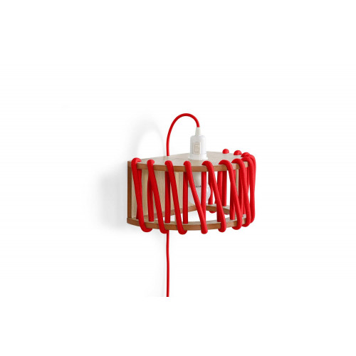 Wandleuchte Macaron 30 cm   Rot