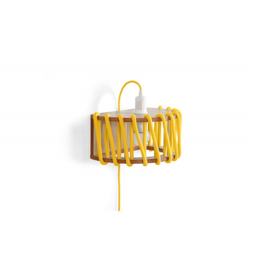 Wandleuchte Macaron 30 cm   Gelb