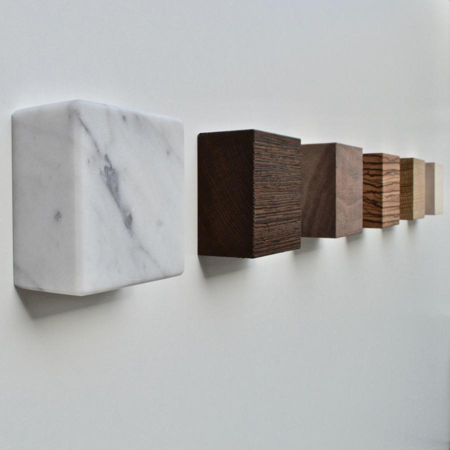 Magnetic Marble Cube MONOLYTH   Carrara