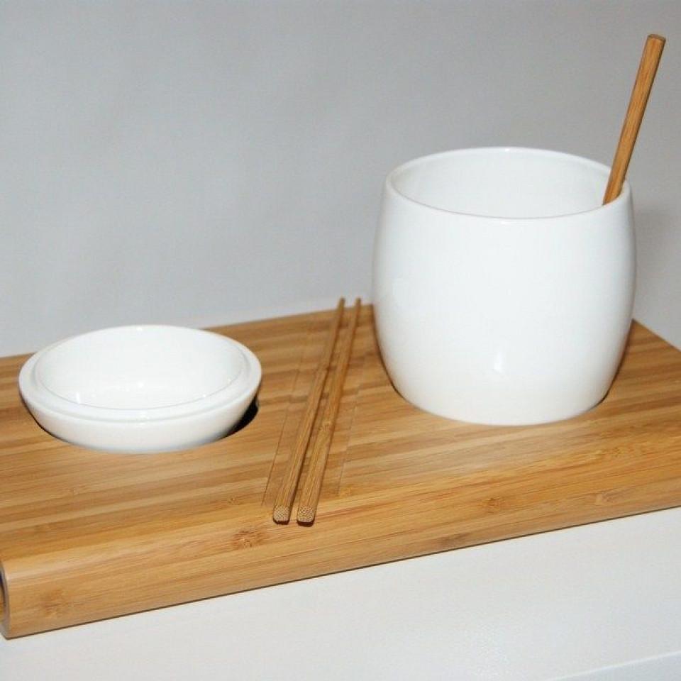 Exist Dish set White
