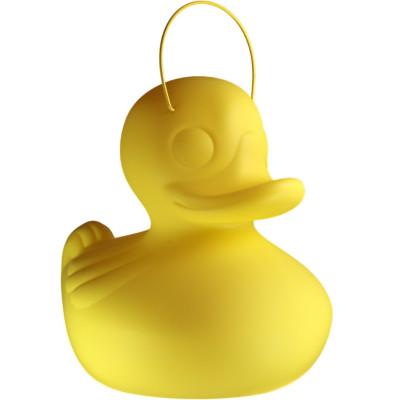 Freiluft-Lampen-Ente Klein | Gelb
