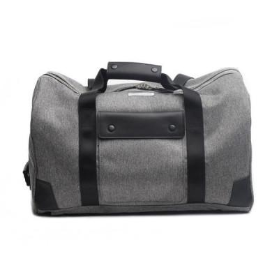 Duffle Pack | Grey & Black