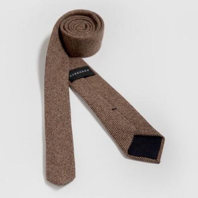 Cashmere Tweed Tie | Dunnock