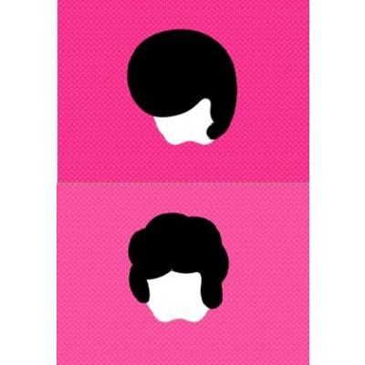 "Set of 2 Mac Book Stickers ""The Big Mac"" & ""The Big King"""