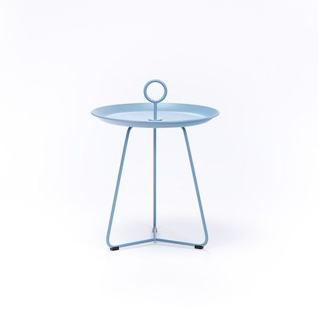 Eyelet Tray Table Small | Pigeon Blue