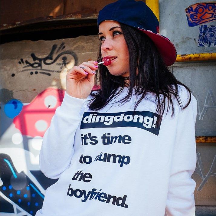 Sweater | Woman | It's Time To Dump The Boyfriend