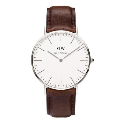 Klassische Bristol-Uhr | Silber