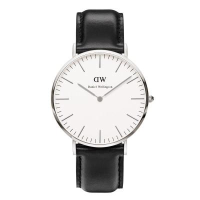 Klassische Sheffield-Uhr | Silber