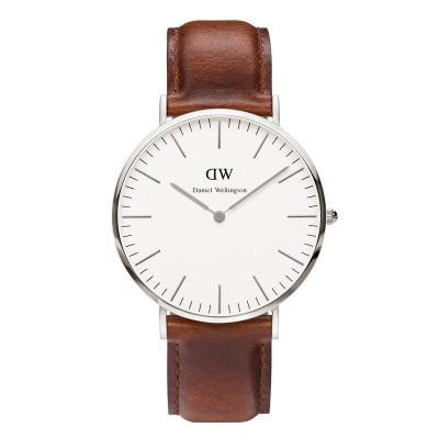Klassische St Andrew's Uhr | Silber