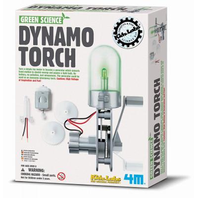 DIY-Bausatz Dynamo-Taschenlampe