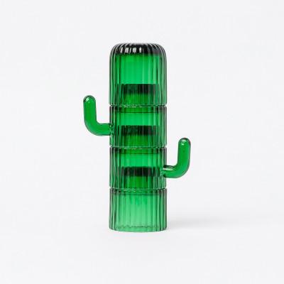 Kaffeetassen Saguaro | 4er-Set | Grün