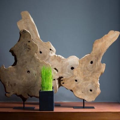 Dekoration Frangipani-Holz