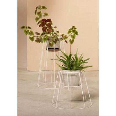 Pflanzständer Cibele | Weiß