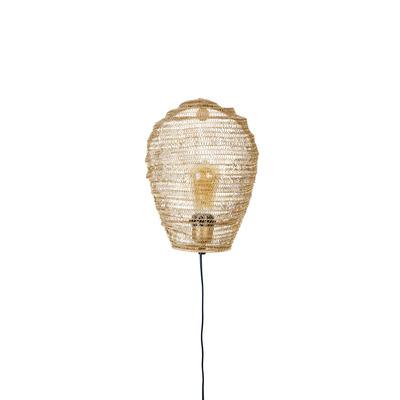 Wandlampe Lena   Brass