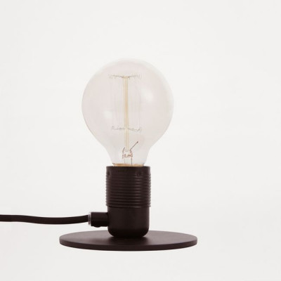 E27 Table Lamp   Matt Black