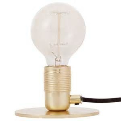 E27 Table Lamp   Brass