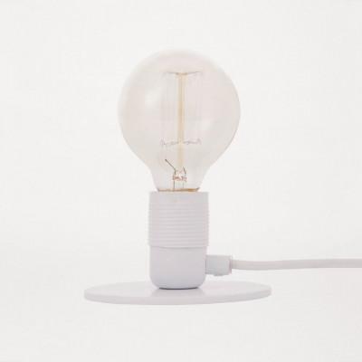 E27 Table Lamp   White