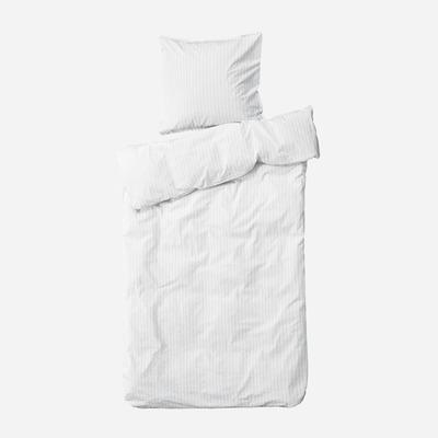 Einzelner Bettbezug mit Kopfkissenbezug 60 x 63 Dagny   Schnee & Meer