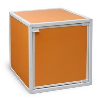 Box Storage Cube, Orange