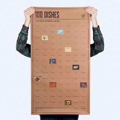 Poster | 100 Gerichte zum Essen