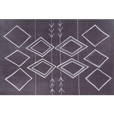Carpet Ada Gonul Chenille 140x190 cm I  Black AL 297