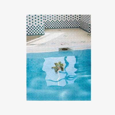 Puzzle innerhalb eines Puzzles | Schwimmbad