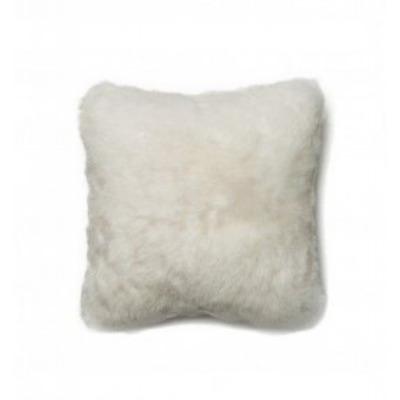 Kurzes isländisches Kissen | Weiß