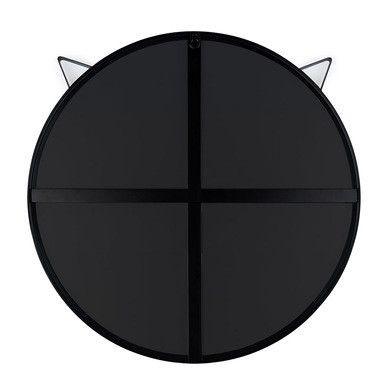 Spiegel Katze | Schwarz