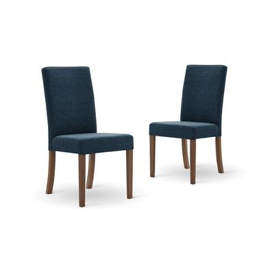 Set of 2 Dining Chairs Tonka | Petrol Blue