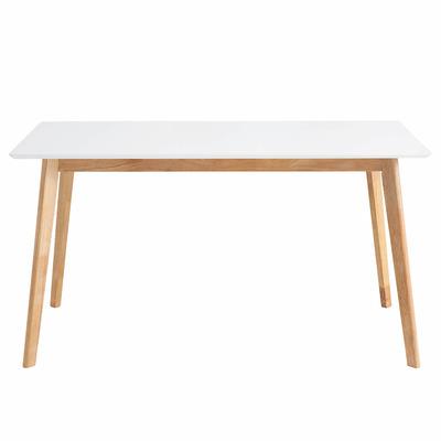 Tisch Marie 140x80 cm | Eiche-Weiß