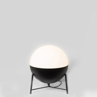 Table Lamp Half Tripod ø 35 cm | Matt Black