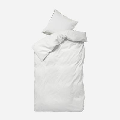 Einzelner Bettbezug mit Kopfkissenbezug 60 x 63 Ingrid   Schnee