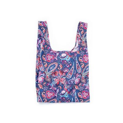 Wiederverwendbare Tasche Boho-Paisley   Blau