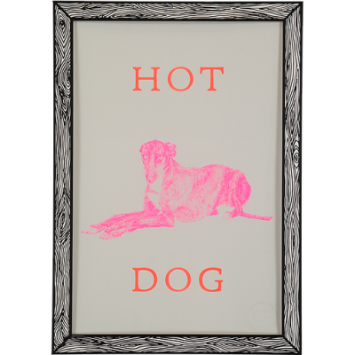 Art Print Hot Dog