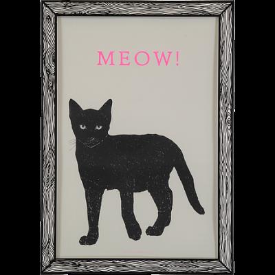 Art Print Meow