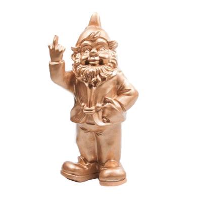 Statue F*ck you Zwerg I Gold