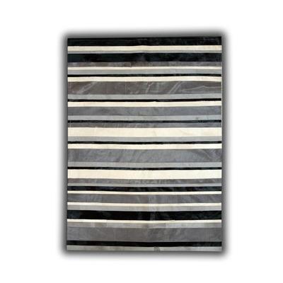 Lederteppich   ST-4 Colours Stripes