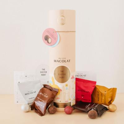 Schokolierte Macadamia-Nüsse | Osterjäger
