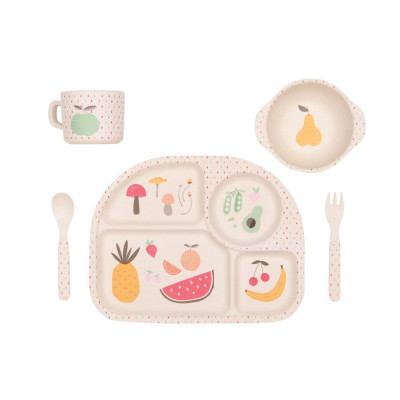 Dinner Set | Fruit & Veggie