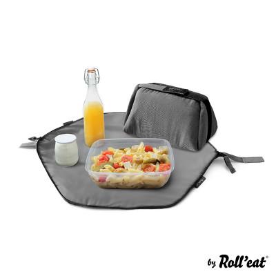 Wiederverwendbare Lunch-Tasche Eat'n'Out Mini Eco | Schwarz