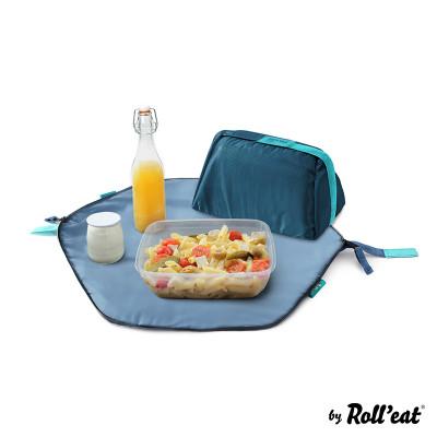 Wiederverwendbarer Lunchsack Eat'n'Out Mini Square | Blau